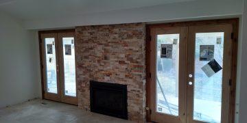 Build Fireplace Brick
